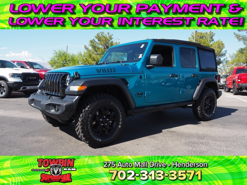 Pre-Owned 2020 JEEP WRANGLER SPORT 4X4