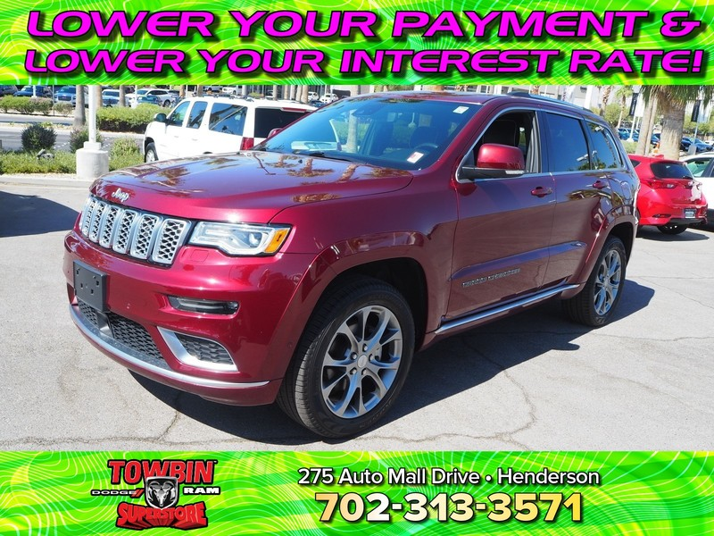 Pre-Owned 2019 JEEP GRAND CHEROKEE SUMMIT 4X4
