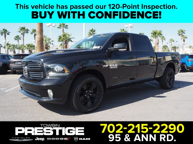Pre Owned 2017 Ram 1500 Sport 4x4 Crew Cab 6 4