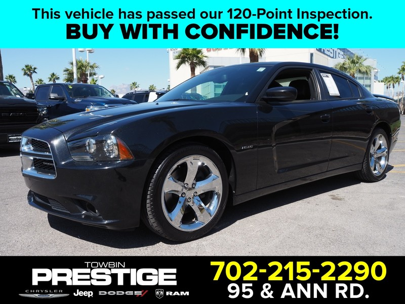 Pre-Owned 2013 DODGE CHARGER 4DR SDN RT MAX RWD