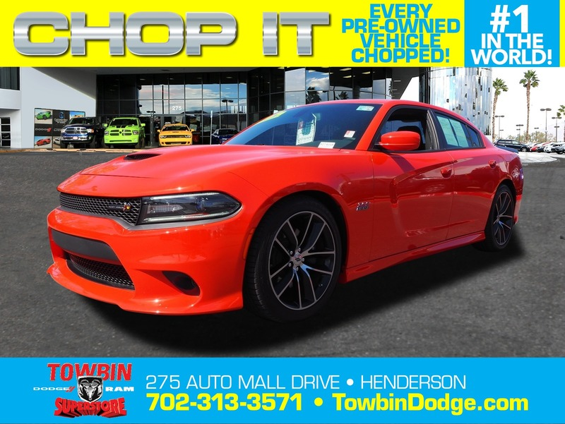 Pre-Owned 2018 DODGE CHARGER R/T SCAT