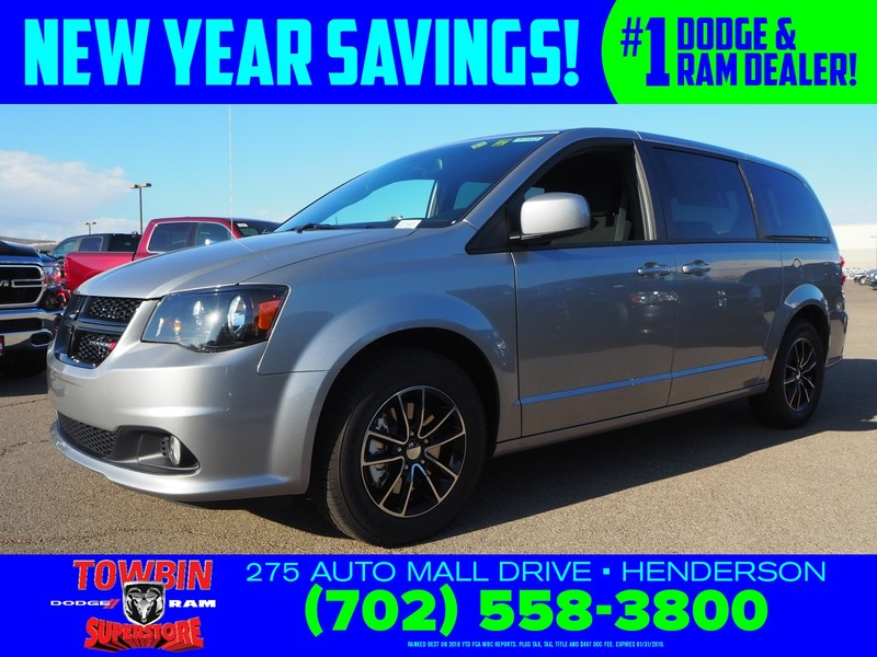 New 2019 Dodge Grand Caravan Se Plus Passenger Van In Henderson