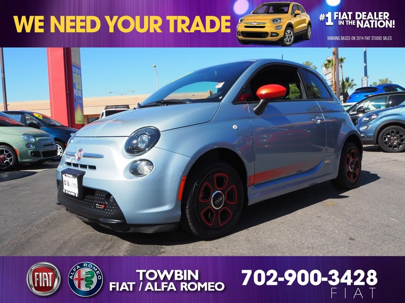 Pre Owned 2015 Fiat 500e 3dr In Henderson Fp5005 Towbin Dodge