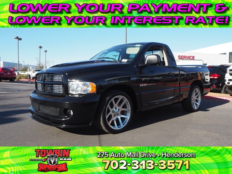 Pre-Owned 2004 DODGE RAM 1500 SRT-10