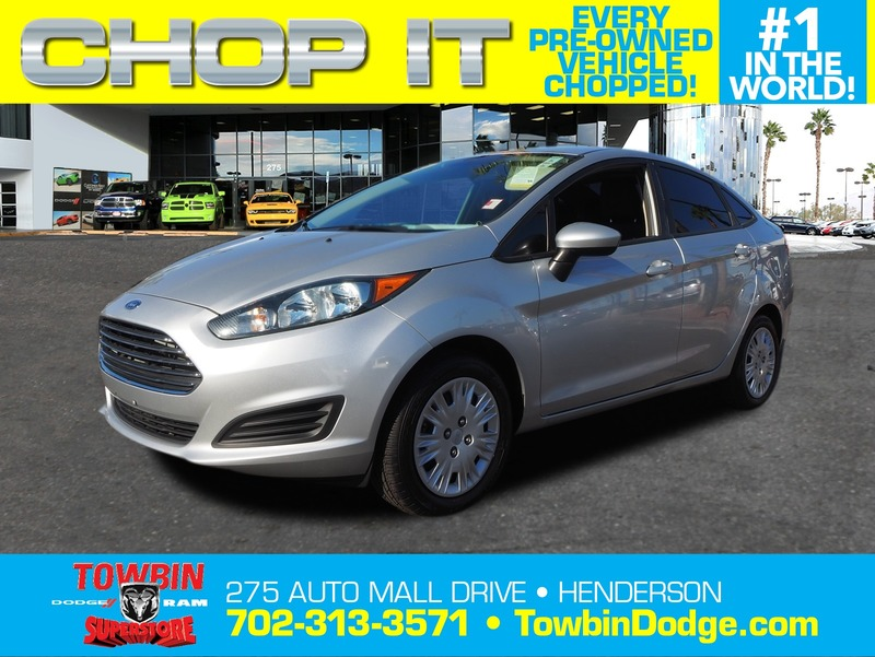 Pre Owned 2014 Ford Fiesta S 4dr In Henderson R26541a Towbin Dodge