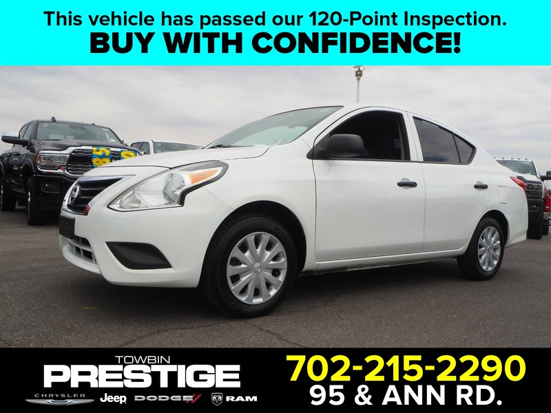 Pre-Owned 2015 NISSAN VERSA 4DR SDN MANUAL 1.6 S