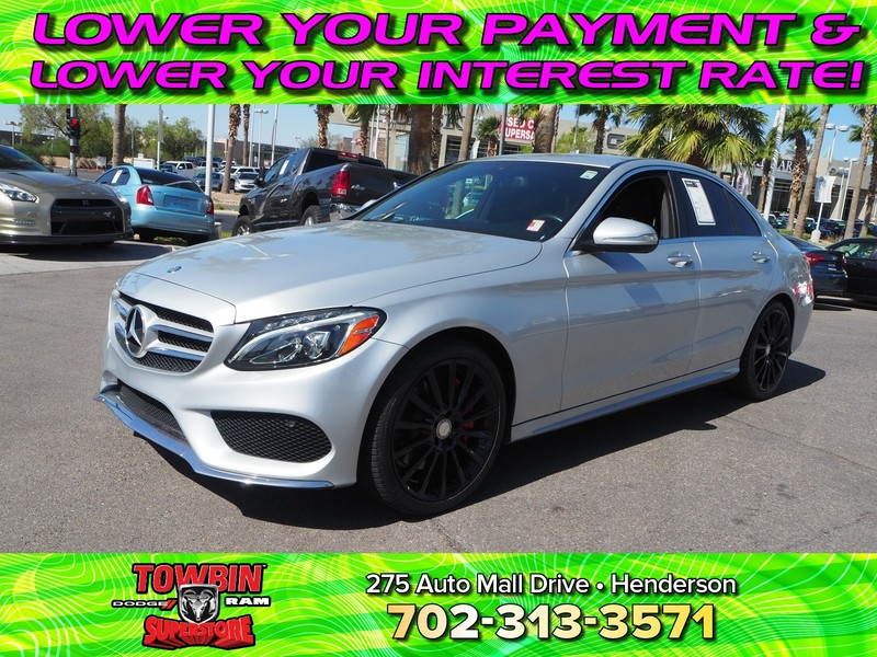 Pre-Owned 2015 MERCEDES-BENZ C300 4MATIC BASE