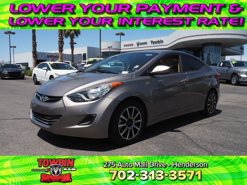 Pre-Owned 2013 HYUNDAI ELANTRA SEDAN GLS