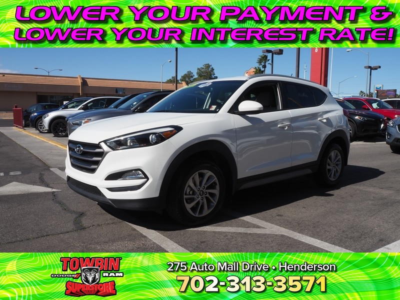 Pre-Owned 2017 HYUNDAI TUCSON SE POPULAR