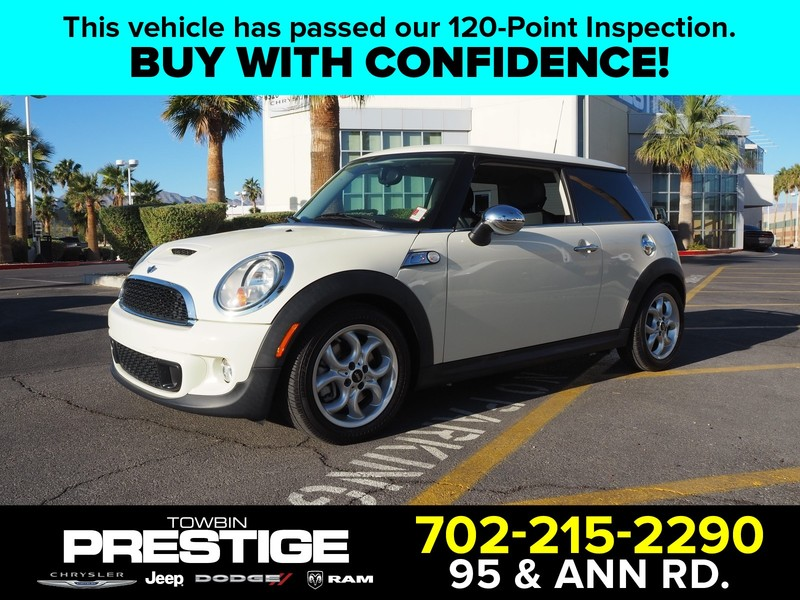 Mini Cooper Las Vegas >> Pre Owned 2012 Mini Cooper 2dr Cpe S Front Wheel Drive Coupe