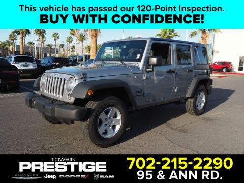 Pre-Owned 2017 JEEP WRANGLER UNLIMITED