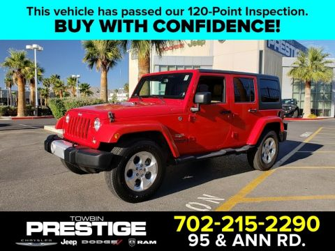 Pre-Owned 2014 JEEP WRANGLER UNLIMITED