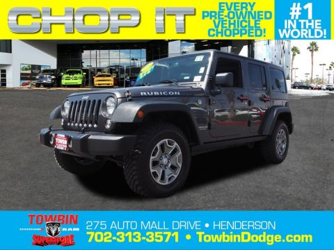 Pre-Owned 2016 JEEP WRANGLER UNLMTD RUBICON