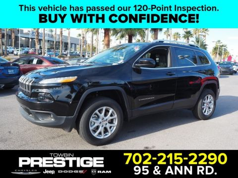 Pre-Owned 2018 JEEP CHEROKEE LATITUDE PLUS 4X4