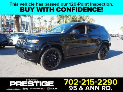 Pre-Owned 2019 JEEP GRAND CHEROKEE ALTITUDE 4X2