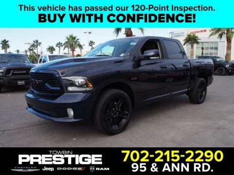 Pre-Owned 2018 RAM 1500 SPORT 4X2 CREW CAB 5'7