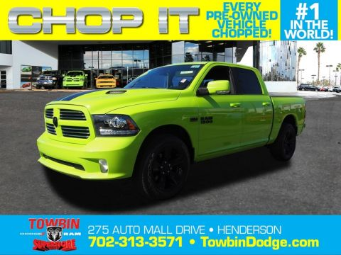 Pre-Owned 2017 RAM 1500 SPORT CONVENIENCE
