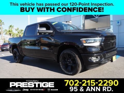 Pre-Owned 2019 RAM 1500 BIG HORN/LONE STAR 4X2 CREW CAB 5'7