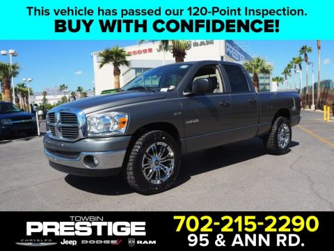 Pre-Owned 2008 DODGE RAM 1500 2WD QUAD CAB 140.5