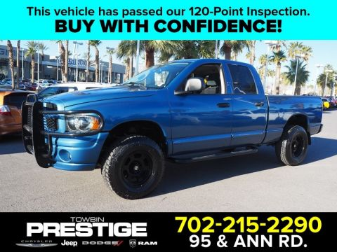 Pre-Owned 2005 DODGE RAM 1500 4DR QUAD CAB 140.5