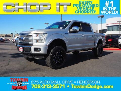 Pre-Owned 2015 FORD F-150 PLATINUM FX4