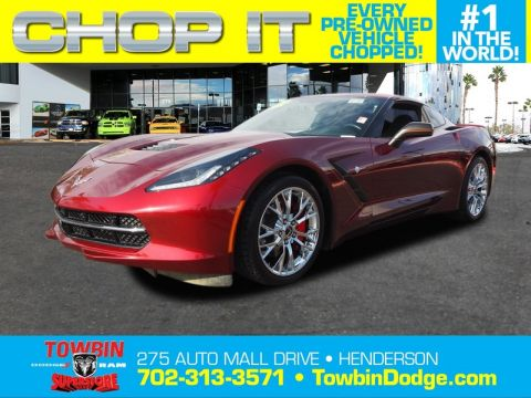 Pre-Owned 2016 CHEVROLET CORVETTE STINGRAY 2LT