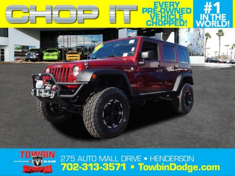 Pre-Owned 2010 JEEP WRANGLER UNLMTD RUBICON