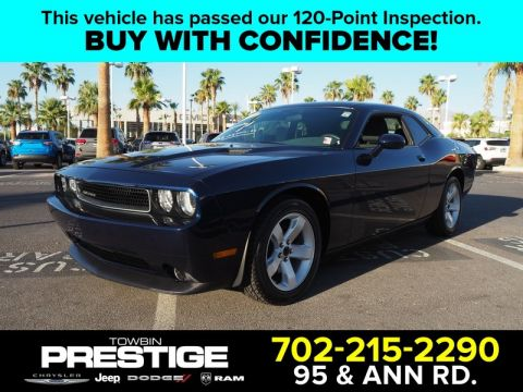 Pre-Owned 2013 DODGE CHALLENGER 2DR CPE SXT