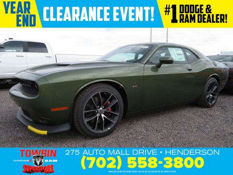 New 2018 DODGE CHALLENGER R/T SCAT PACK
