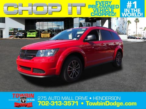 Pre-Owned 2018 DODGE JOURNEY SE
