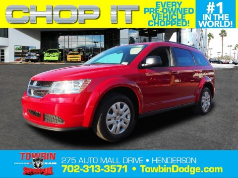 Pre-Owned 2018 DODGE JOURNEY SE POPULAR