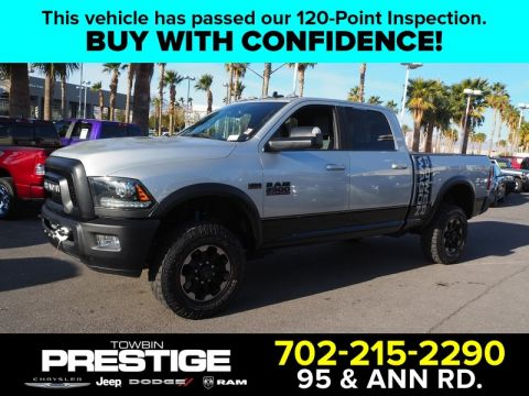 Pre-Owned 2018 RAM 2500 POWER WAGON 4X4 CREW CAB 6'4