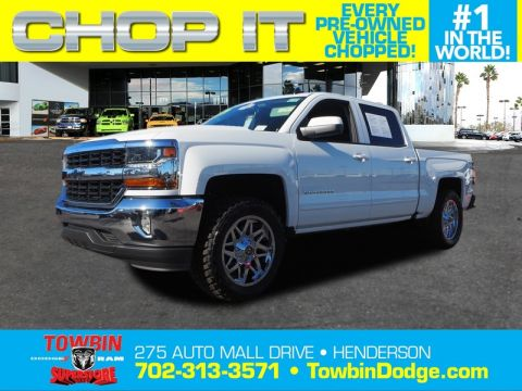 Pre-Owned 2018 CHEVROLET SILVERADO 1500 LT ALL STAR