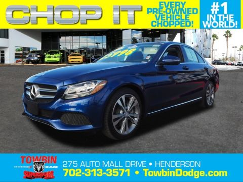 Pre-Owned 2017 MERCEDES-BENZ C300 SEDAN BASE