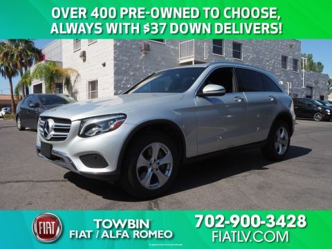 Pre-Owned 2017 MERCEDES-BENZ GLC300 4MATIC